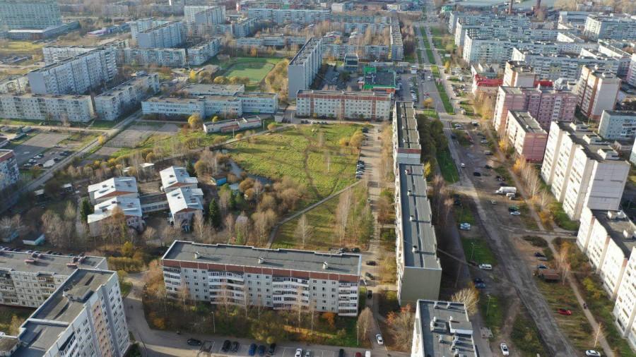 Бывалово, зелёная  зона Ярославская 34. Вологда.jpg